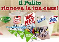 Logo '' Il pulito rinnova la tua casa'' con Eroi di Casa: vinci buoni Leroy Merlin e un super premio finale