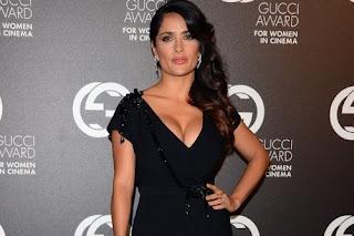 Salma Hayek curvaceous body