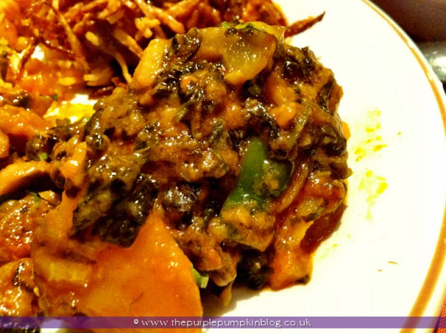 Raj of India, Collier Row Review at The Purple Pumpkin Blog
