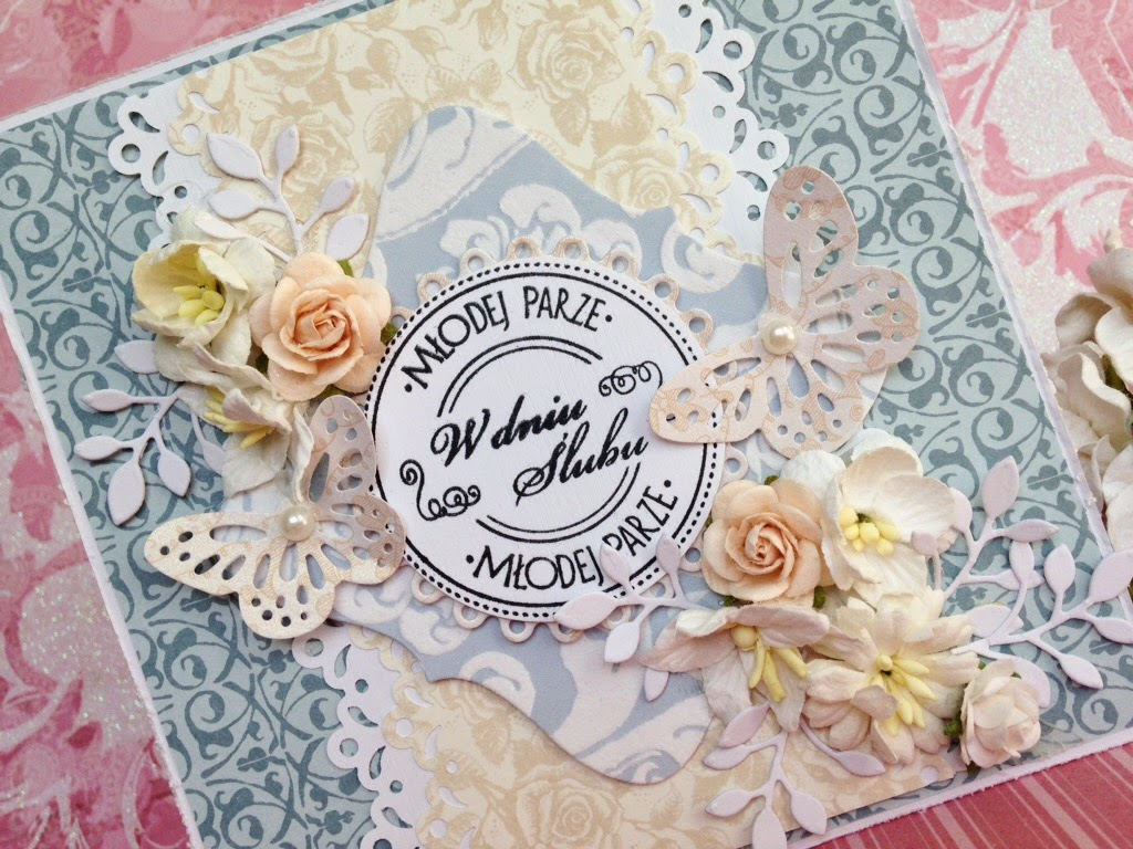Scrapbooking weedding cards