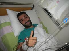Στο Λαϊκό Νοσοκομείο Αθηνών με διάγνωση οξεία λευχαιμία..