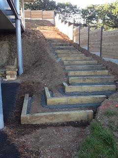 Traverse bois escalier Coat Maen