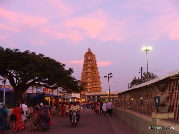 one day trip from bangalore Mysore Chamundi Temple