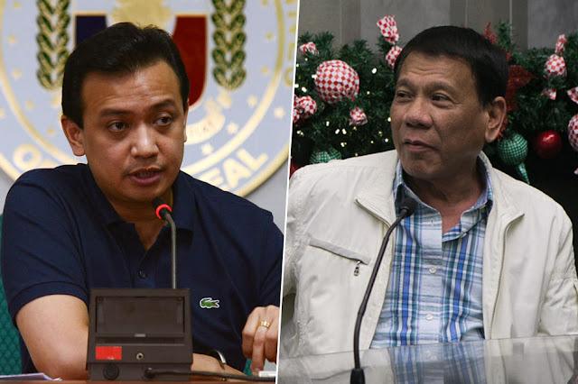 Trillanes to Duterte: Titindig ako laban sa kaniya