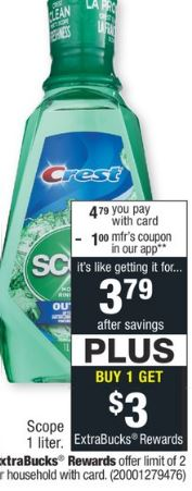 Print Crest coupons