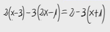 18. Ecuación de primer grado