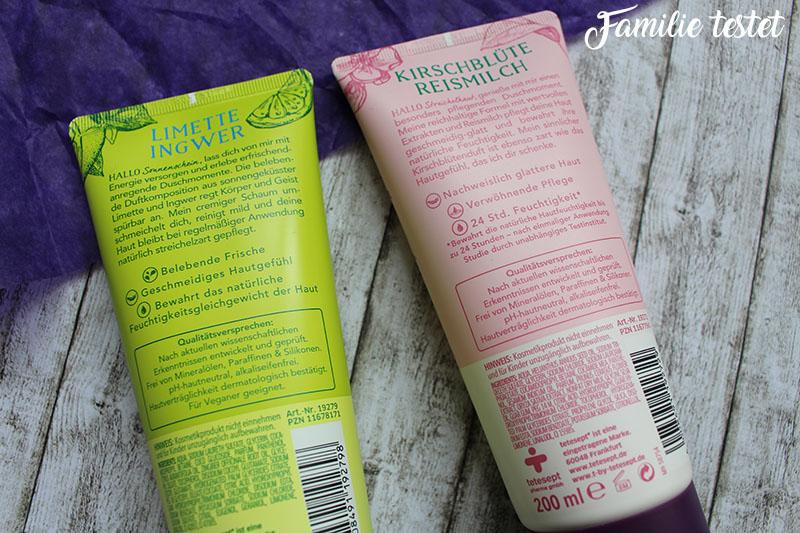 Inhaltstoffe Limette Ingwer Kirschblüte Reismilch