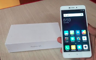 redmi 4a white unboxing