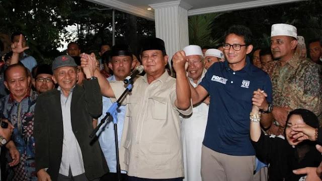 Prabowo Janji akan Jadi Presiden Seluruh Rakyat Indonesia