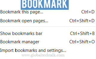 What is Bookmark ? Definition