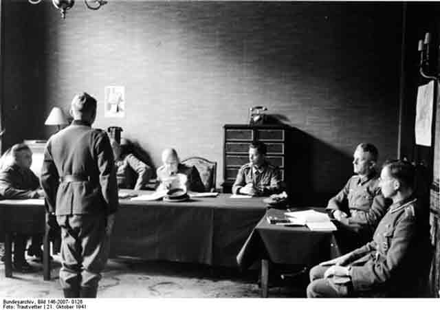 German tribunal in Occupied France, 21 October 1941 worldwartwo.filminspector.com