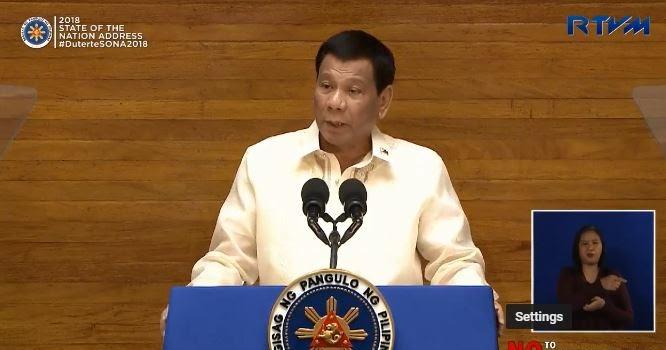 President Duterte SONA 2018 highlights, review for reaction paper