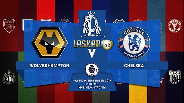 Prediksi Pertandingan Bola Wolverhampton Vs Chelsea 14 September 2019