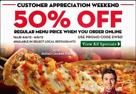Papa johns pizza coupon codes