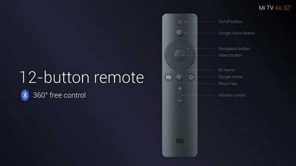 Xiaomi Mi TV 4A remote