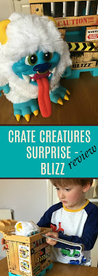 Crate-Creatures-Surprise-Blizz-Review-text-Blizz-by-crate-and-boy-opening-crate-pinterest-friendly-pin