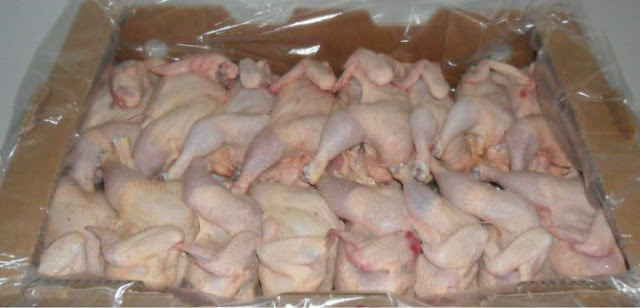 Gov't 'Bans' Importation Of Frozen Chicken