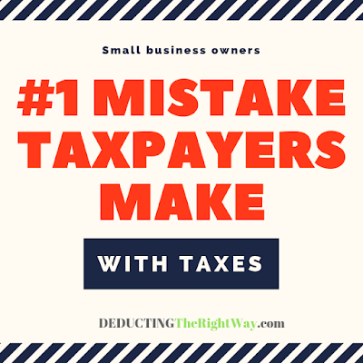 smb tax mistakes | www.deductingtherightway.com