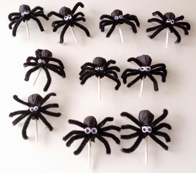 Chupa-Chups de arañas