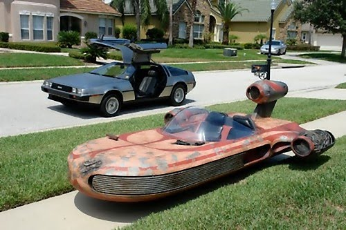 11 creative and cool starwars rides