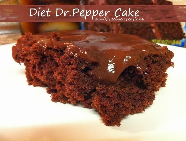 Diet Dr Pepper Cake Mix