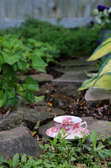 In the Garden: The Charm of Home