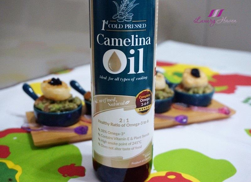 lifestream labo all purpose camelina oil recipe