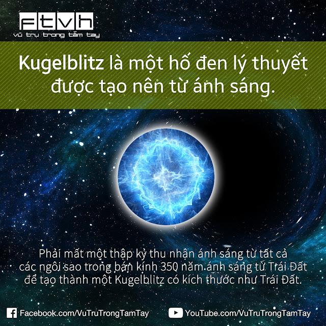 [Ftvh] Kugelblitz, hố đen lý thuyết được tạo nên từ ánh sáng.
