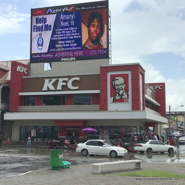 famous branch of KFC in Port of Spain, Trinidad