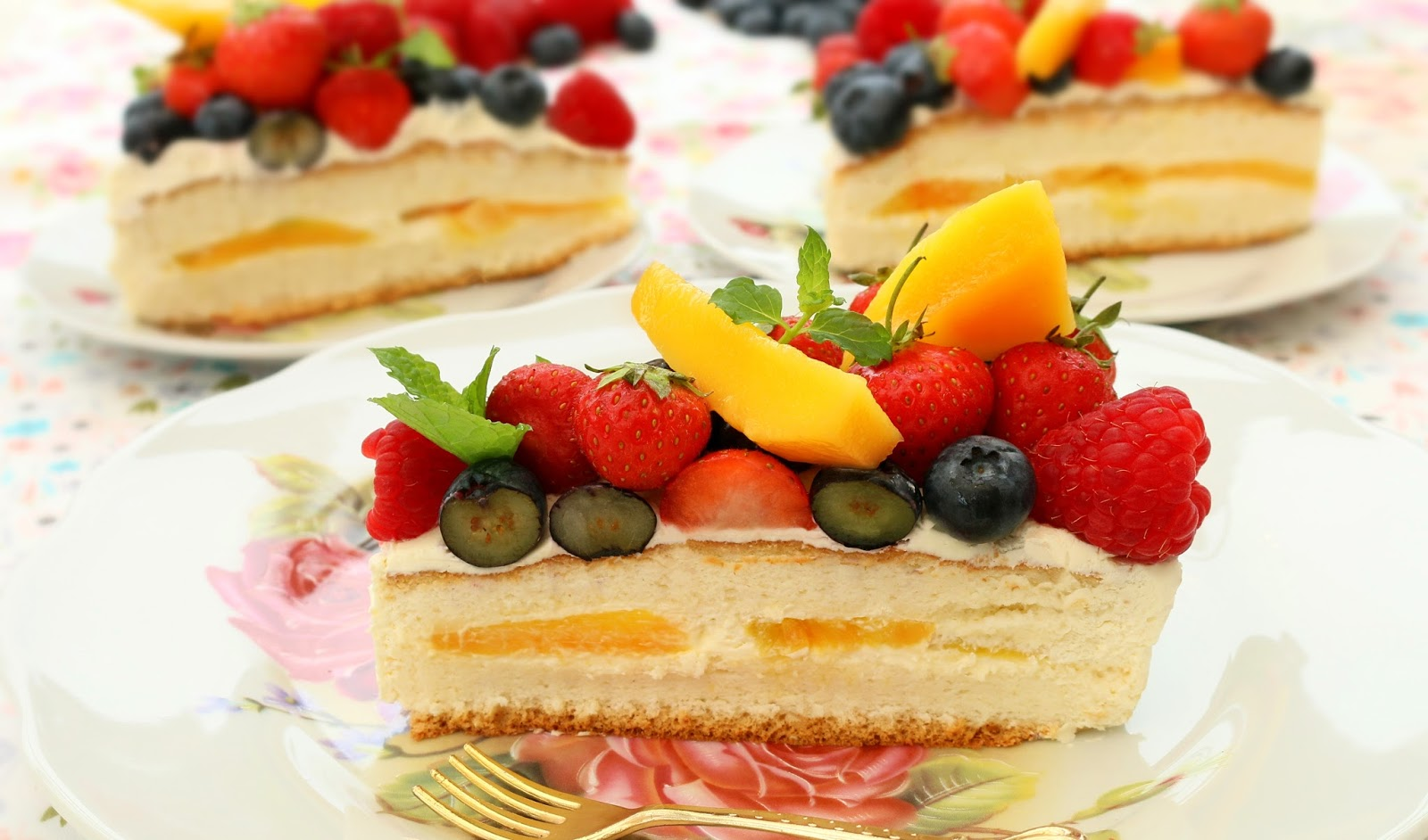 Josephines Recipes How To Make Fresh Fruits Cream Cake Chinese