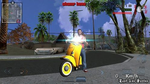GTA2KHAN2017 Mod Pack For Android [Lite Version] yellow bike faggio vc best screen