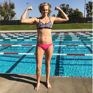 7x Olympic medalist Dana Vollmer in her 2nd trimester