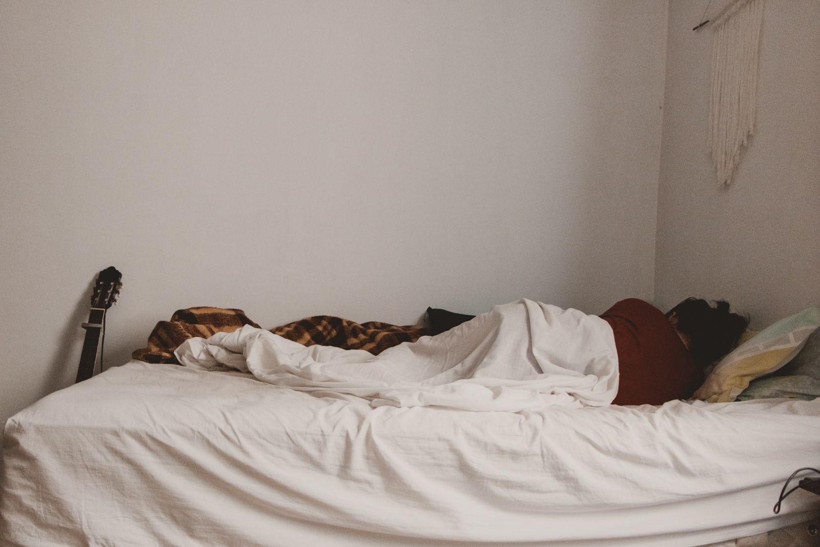 Life Update deitada cama