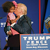 VIDEO+PHOTO: Donald Trumps Kisses Young Girl During Wisconsin Rally, Says She's So Beautiful