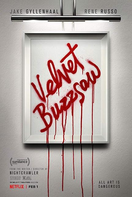 Velvet Buzzsaw 2019 Netflix movie poster