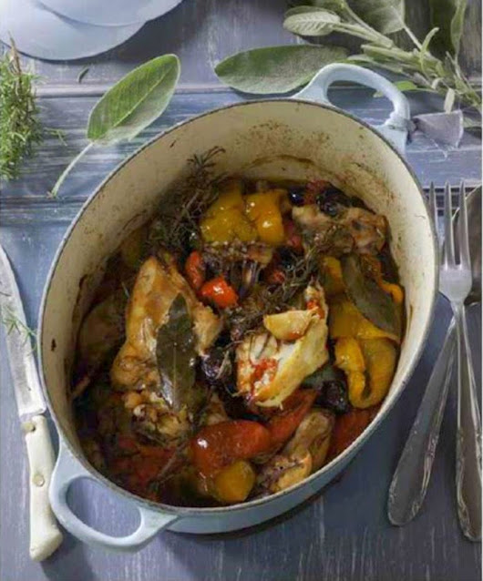Gather & Share - Chicken with Peppers