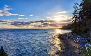 Wallpaper: Roberts Creek Seascape