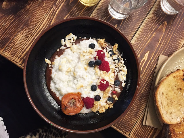 Friends of Ours Shoreditch coconut rice breakfast