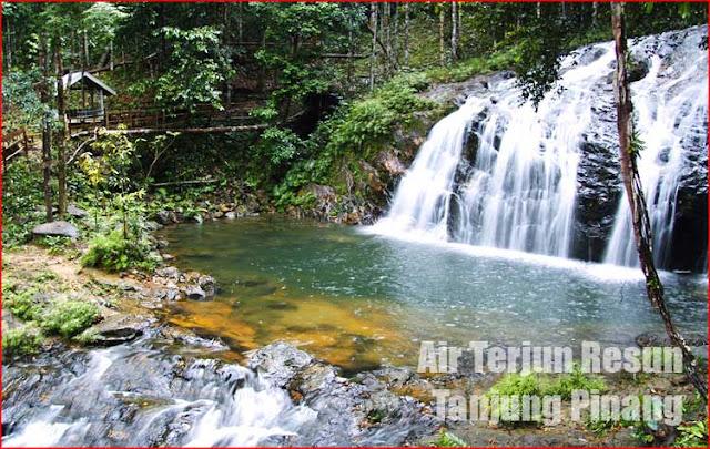 Foto Air Terjun Resun Tanjung Pinang