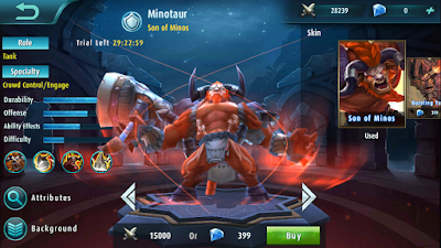 Minotaur Mobile Legends