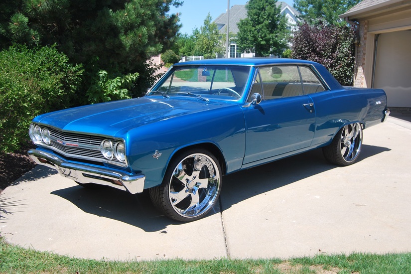Car For Sale: 65 Chevy Malibu - Doing Donuts With Bernie