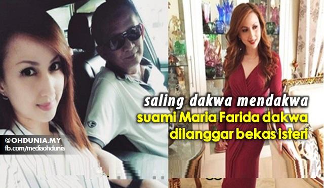 Suami Maria Farida Dakwa Dilanggar Bekas Isteri