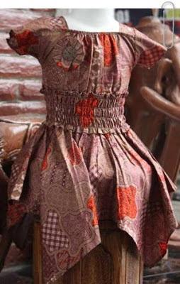 Model Baju Batik Anak Perempuan Id Bagus