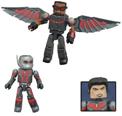 Toys R Us Exclusive Captain America: Civil War Marvel Minimates by Diamond Select Toys – The Falcon & Ant-Man