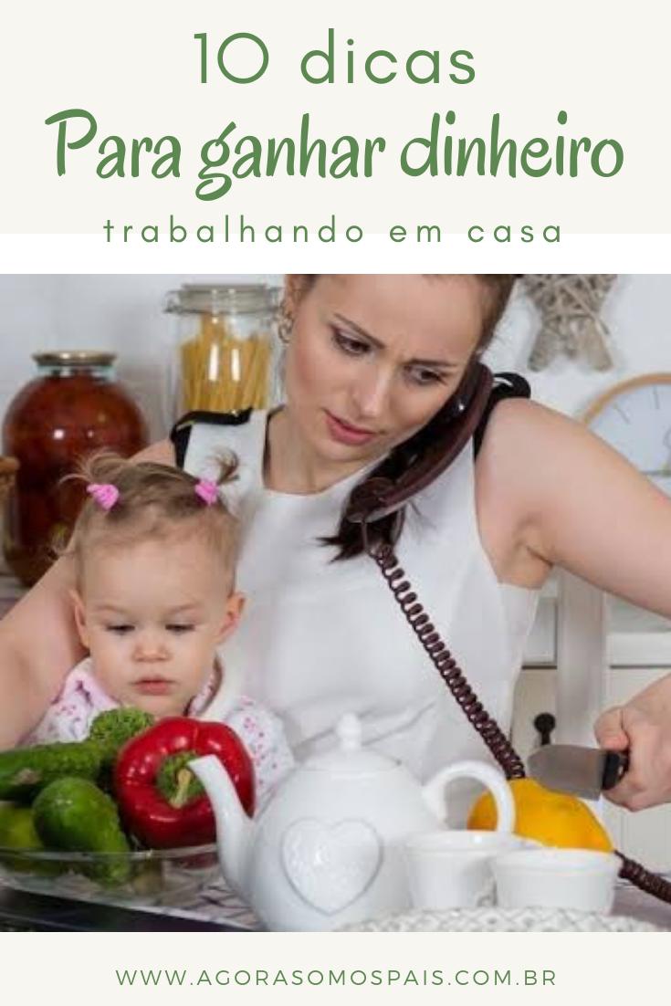 10IDEIAS PARA GANHAR DINHEIRO EM CASA