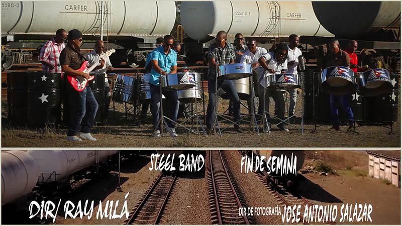 Steel Band del Cobre - ¨Fin de semana¨ - Videoclip - Dirección: Ray Milá Vega. Portal Del Vídeo Clip Cubano