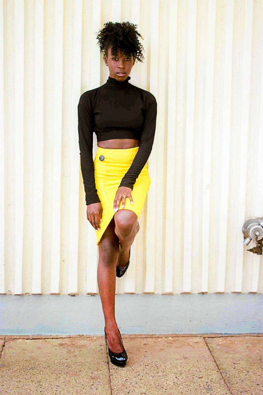 bare back crop top, long sleeved crop top, crop top outfit ideas, how to wear a crop top and a yellow skit, yellow skrit outfit ideas, style with ezil, what to wear, stylist skirt designs, yellow skirt designs, what to wear with a crop top, what to wear with a yellow skirt, style with ezil, kenyan fashion blogger, african fashion blogger.