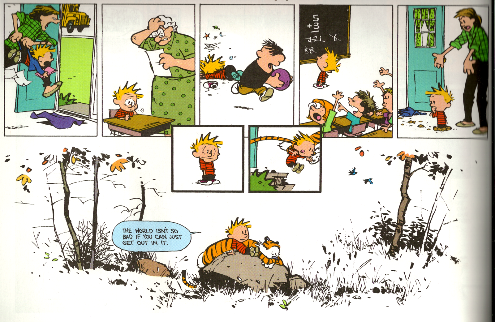 Little Pitchers I Think Bill Waterson Wants Me To Homeschool