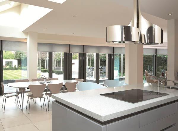 Kitchen Island Exhaust Fans Hoods Small White Table Hogares Frescos: Campanas De Cocina Diseño ...