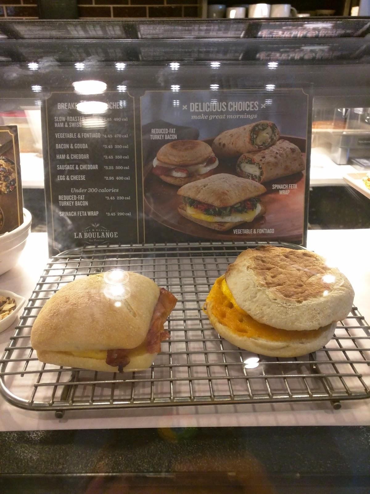Starbucks Sausage Egg And Cheese Calories : starbucks, sausage, cheese, calories, Julie's, Dining, Club:, Starbucks, Sandwiches